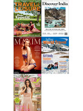 (Travel+ Leisure) + (Discover India) + (Maxim) + (Selling World Travel) + (Asia Spa) , (English, 1 Year)