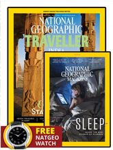 National Geographic + National Geographic Traveller India (Subscribe & get FREE YATRA COUPON + PHOTOGRAPHER