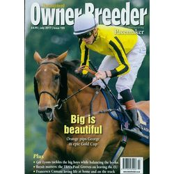 Thoroughbred Owner Breed, english, single issue