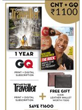 GQ+ Conde Nast Traveller (English 1 Year) (Print+Digital)