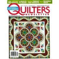Quilters Newsletter, 1 year, english