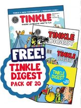 Tinkle Combo, (1 Year English) (Subscribe & Get 24+12 Issues + 6 months of Tinkle Double Digest FREE!)