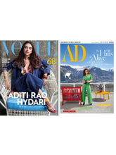 Vogue+ Architectural Digest (1 year, English)