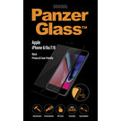 Panzer Temp Glass for iPhone 6/6S/7/8  BLACK Privacy