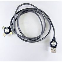Detec 3 -in - 1 USB Type Data & Charging Cable