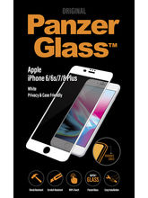 Panzer Temp Glass for iPhone 6/6S/7/8  PLUS White Privacy