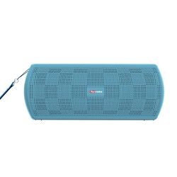 Portronics PureSound Plus Portable Bluetooth 2.1 Wireless Stereo Speaker with 3.5mm AUX Mode, Powerful 6W Sound, in-built Mic and U Disk Play,  blue