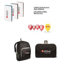 CallOne Flat Book 15600mAh with free CallOne Folding Bag Pack