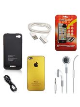Callmate Combo Screen Guard, Earphones, Iphone 4S ...