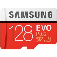 EVO Plus microSD Card 100 MB/s (SD Adapter), 128gb