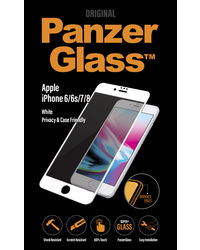 Panzer Temp Glass for iPhone 6/6S/7/8 White Privacy