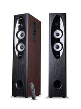 F&D T-60X 2.0 Floorstanding Speaker (Bluetooth & NFC) - Brown