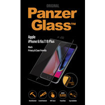 Panzer Temp Glass for iPhone 6/6S/7/8 PLUS BLACK Privacy