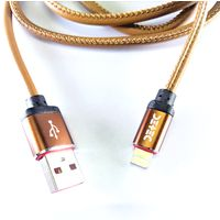 Detec Brown Leather USB Type - Micro - Data Charging Cable