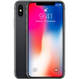 Apple iPhone X,  space grey, 256 gb