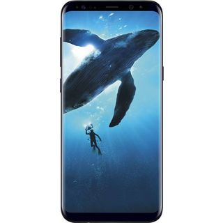 Samsung Galaxy S8  Midnight Black, 64  GB