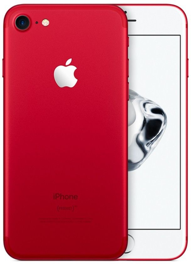 Apple iPhone 7, red, 128gb By Infibeam @ Rs.68,999