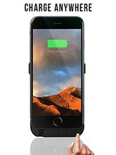 Pebble Charging Battery Case IPhone 6/6S/7, black