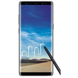 Samsung Galaxy Note 8,  midnight black