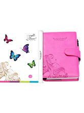 Tiara Pregnancy Journal And Record Book (Tiara-45), pink