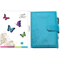 Tiara Pregnancy Journal And Record Book (Tiara-55), baby blue