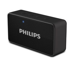 Philips BT64B Portable Bluetooth Speaker (with Aux-In/TF) - Black