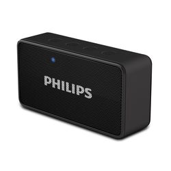 Philips Portable Speaker-BT64A,  black
