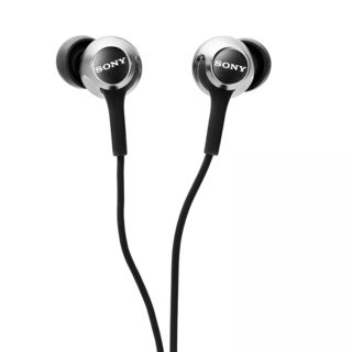 Sony MDR EX155 In Ear Headphones, white