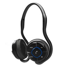Portronics Muffs Neck band Bluetooth headset,  black