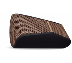 Logitech X300 Bluetooth Speaker with Aux-In/Mic (Black/Brown)