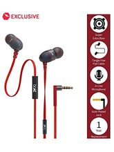 BoAt BassHeads 200 Extra Bass In Ear Wired Earphones With Mic (Red)