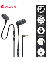 BoAt BassHeads 200 Extra Bass In Ear Wired Earphones With Mic (Black)