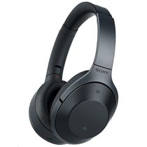 Sony MDR-1000X Wireless Noise Cancelling Headphones,  black