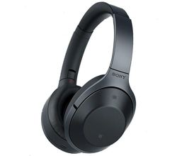Sony MDR 1000X Wireless Noise Cancelling Headphones(Hi-Res Audio) - Black