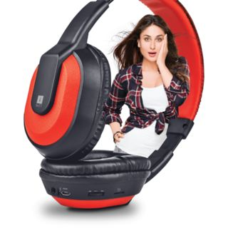 iBall Musitap Clarity Headsets With BT/FM/Microsd Playback