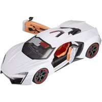 Webby 1: 10 High Speed Super Car With Opening Doors, White