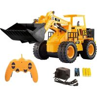 Webby Remote Control 5 Channel Construction Jcb Truck