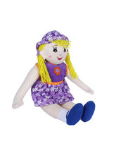 Ultra Arabia Standing Doll Soft Toy 27 Inches (1253UST), purple