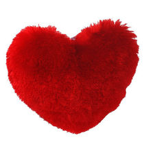 Dimpy Stuff Heart Dark Red Large Size