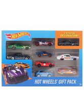 Hot Wheels 9 Cars Gift Pack, Styles May Vary, Mult...