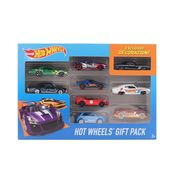 Hot Wheels 9 Cars Gift Pack, Styles May Vary, multicolor
