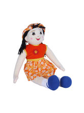 Ultra Arabia Standing Doll Soft Toy 27 Inches (1252UST), orange