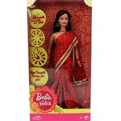 Barbie In India - Red Sari