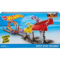 Hot Wheels Super Score Speed Way Track Set - Multicolor