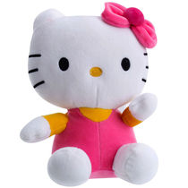 Dimpy Stuff Hello Kitty Stuff Toy 26Cm,  pink