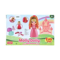 Funskool Fundoh Molly Dolly Magical Hair Dressing Kit