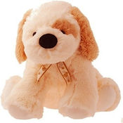 Dimpy Stuff Big Bold Stuff Toy Dog Cream