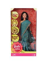 Barbie In India - Green Sari