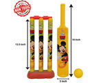 Itoys Disney Mickey Mouse My First Cricket Set-Plastic, yellow