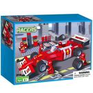 Webby Racers Formula F1 Car Pit Construction Blocks Toy, 218 Pieces